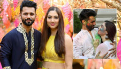 Rahul Vaidya, Disha Parmar as groom & bride in BTS posts from their song leave fans excited for their marriage