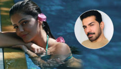 Rubina Dilaik beats the summer heat in a pool; Shares STUNNING bikini-clad PICS clicked by Abhinav Shukla