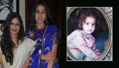 Unseen childhood pics of Sara Ali Khan shared by aunt Saba Ali Khan leave fans in awe