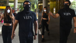 Ek Villain Returns stars Arjun Kapoor and Tara Sutaria return to Mumbai post shoot; view pics