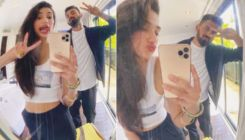 Athiya Shetty is grateful for having bf KL Rahul; shares a quirky mirror selfie with him on his birthday