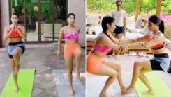 Sara Ali Khan and Janhvi Kapoor reveal the secret behind their golden glow; watch