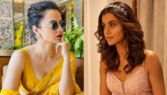 Taapsee Pannu thanks Kangana Ranaut while accepting an award for Thappad; Thalaivi actress responds with a subtle dig