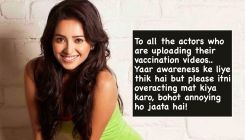 Asha Negi takes a dig at celebs posting VIDEOS after taking COVID-19 vaccine: Stop overacting, it is annoying