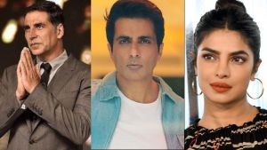 COVID-19 Crisis: Sonu Sood, Akshay Kumar to Priyanka Chopra; Bollywood celebs who helped out in the pandemic