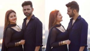 Rashami Desai, Rahul Vaidya TWIN in black as they hint at a 'special surprise;' Duo to entice fans with a song?