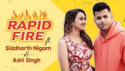 Siddharth Nigam and Ashi Singh take the HILARIOUS rapid-fire challenge