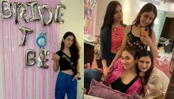Disha Parmar had a blast at her bachelorette party and these inside pics and videos are proof
