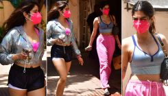 Janhvi Kapoor and Khushi Kapoor snapped post their pilates session; view pics
