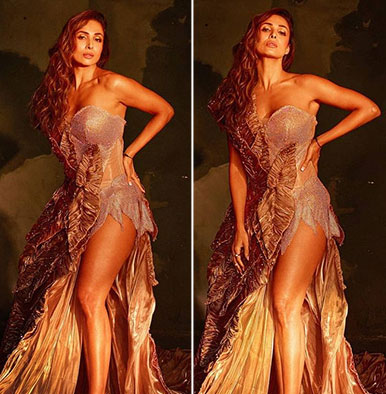 Malaika Arora stuns in new pics from Supermodel of the Year 2 promotions