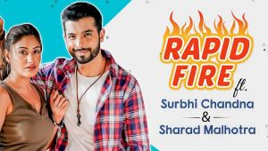 Naagin 5: Surbhi Chandna and Sharad Malhotra's HILARIOUS Rapid Fire on their fight, secrets & more