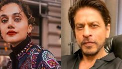 Shah Rukh Khan and Taapsee Pannu to collaborate in Rajkumar Hirani's next? Latter reacts