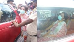 Sidharth Shukla funeral: A devastated Shehnaaz Gill arrives at the crematorium