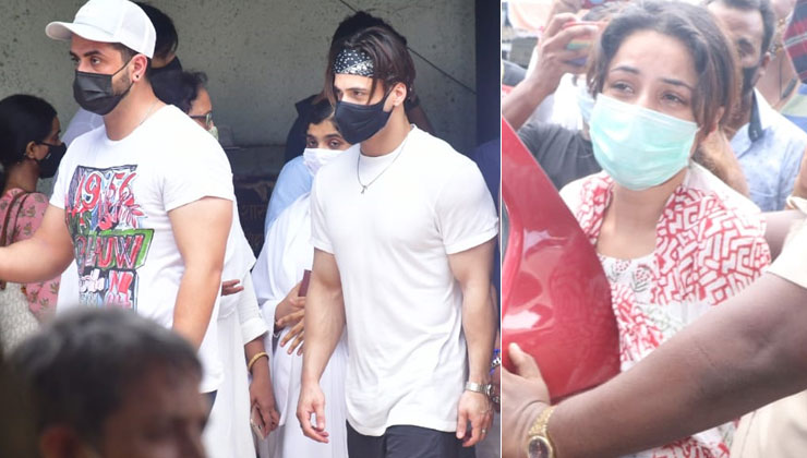 Sidharth Shukla Funeral: Late actor's mother, a heart-broken Shehnaaz Gill, Aly Goni, Asim Riaz and others arrive at the crematorium