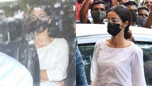 Aryan Khan Drug Case: Ananya Panday arrives at NCB office to record her statement