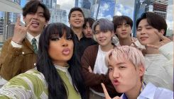 BTS meets Megan Thee Stallion in NYC and their adorable camaraderie is unmissable