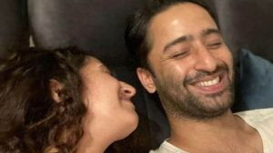 INSIDE PIC: Ruchikaa Kapoor gives a peek into her first wedding anniversary celebration with Shaheer Sheikh; it looks delicious