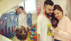Anushka Sharma shares cute pic of her 'whole heart' Virat Kohli and Vamika; her aww-dorable pigtails are unmissable